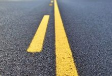 Sun warmed asphalt hazard detected
