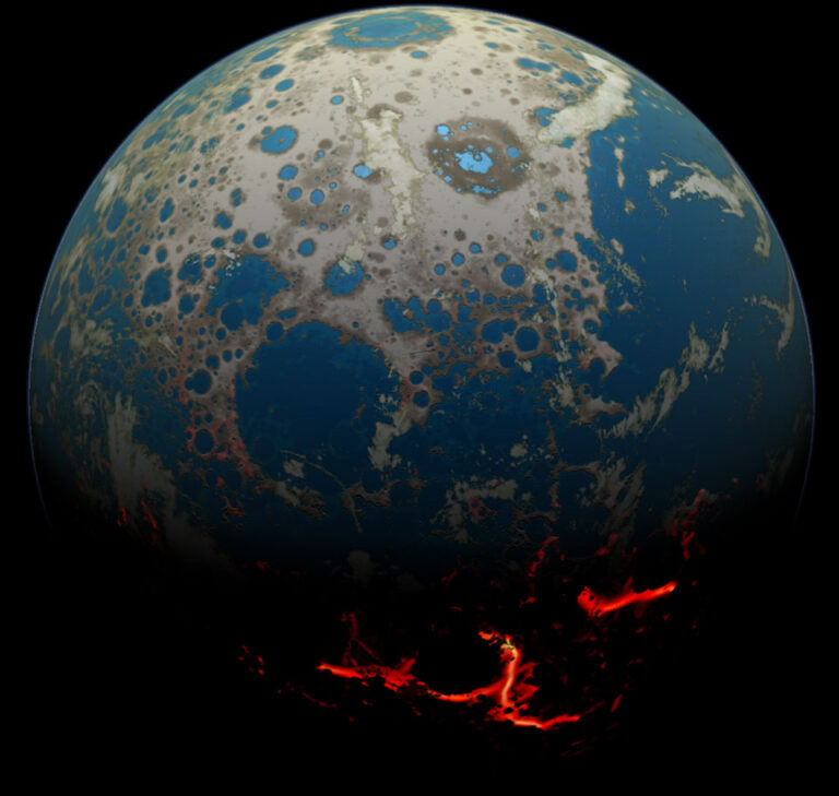 The youngest planet in the known universe