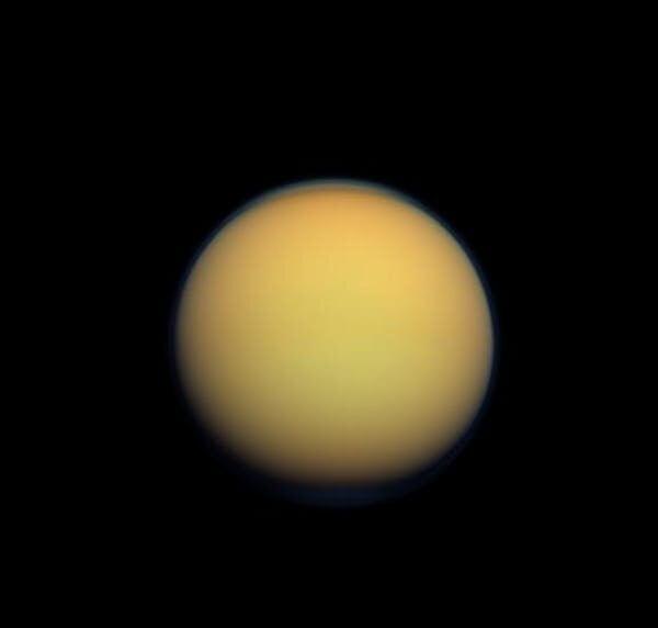 Titan is Saturns largest moon