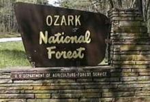 Tourists encounter Bigfoot in Ozark National Park