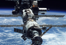 A possible reason for the appearance of a crack on the ISS