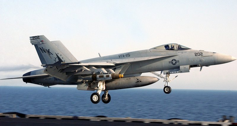 Another fighter plane crashed in the US