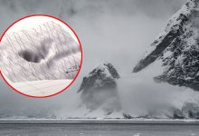 Huge hole discovered in satellite images of Antarctica