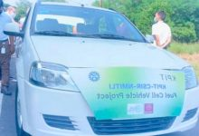 Indias first hydrogen fuel cell electric hybrid vehicle passes first city test run