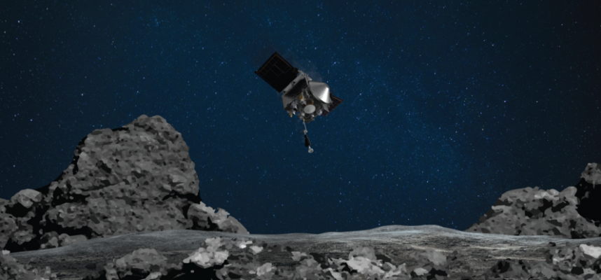 NASAs probe has collected too much asteroid dust and is now losing it