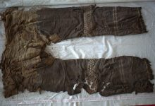 Pants more than three thousand years old were found in China
