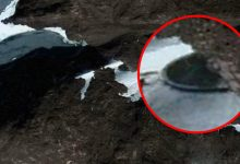 Suspicious object of perfectly round shape found in Antarctica