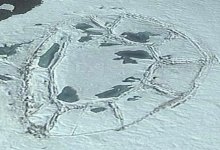 Unknown structures discovered in a poorly explored region of Antarctica