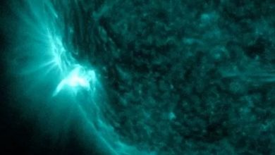 A powerful solar flare caused radio communications interruptions