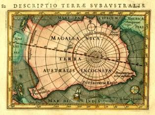 Ancient sailors in Antarctica