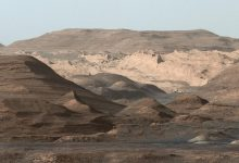 Curiosity finds traces of a giant flood on Mars