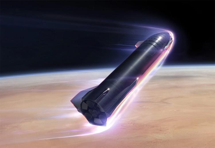 Elon Musk is confident that SpaceX will send humans to Mars in 2026