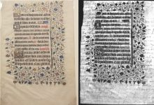 Hidden message found in 15th century manuscript