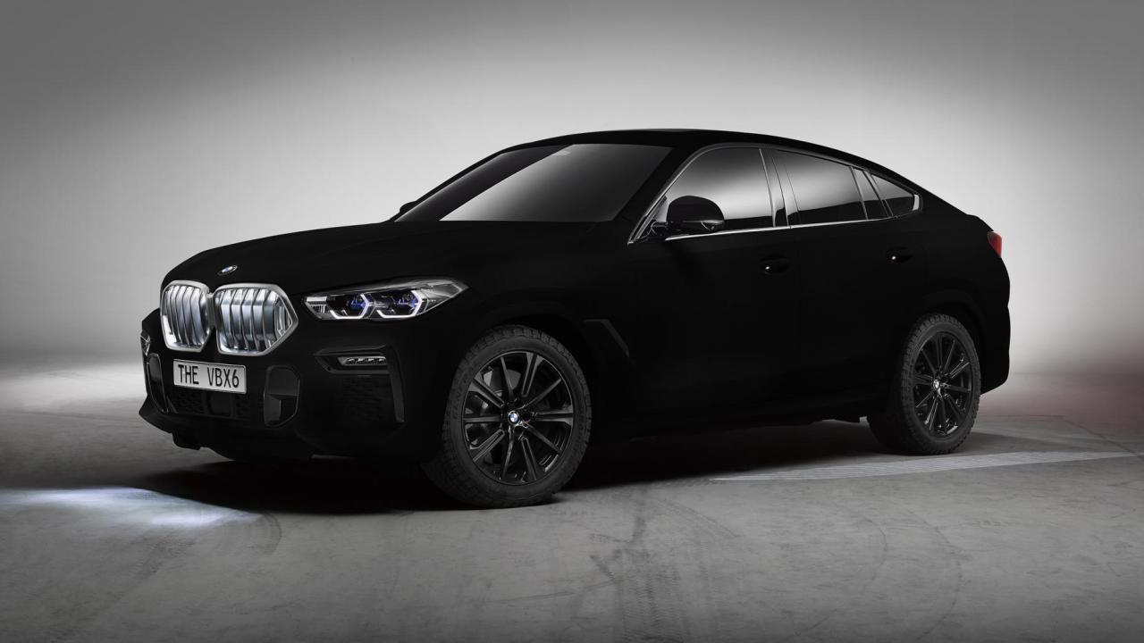How BMW painted the car in the blackest known substance