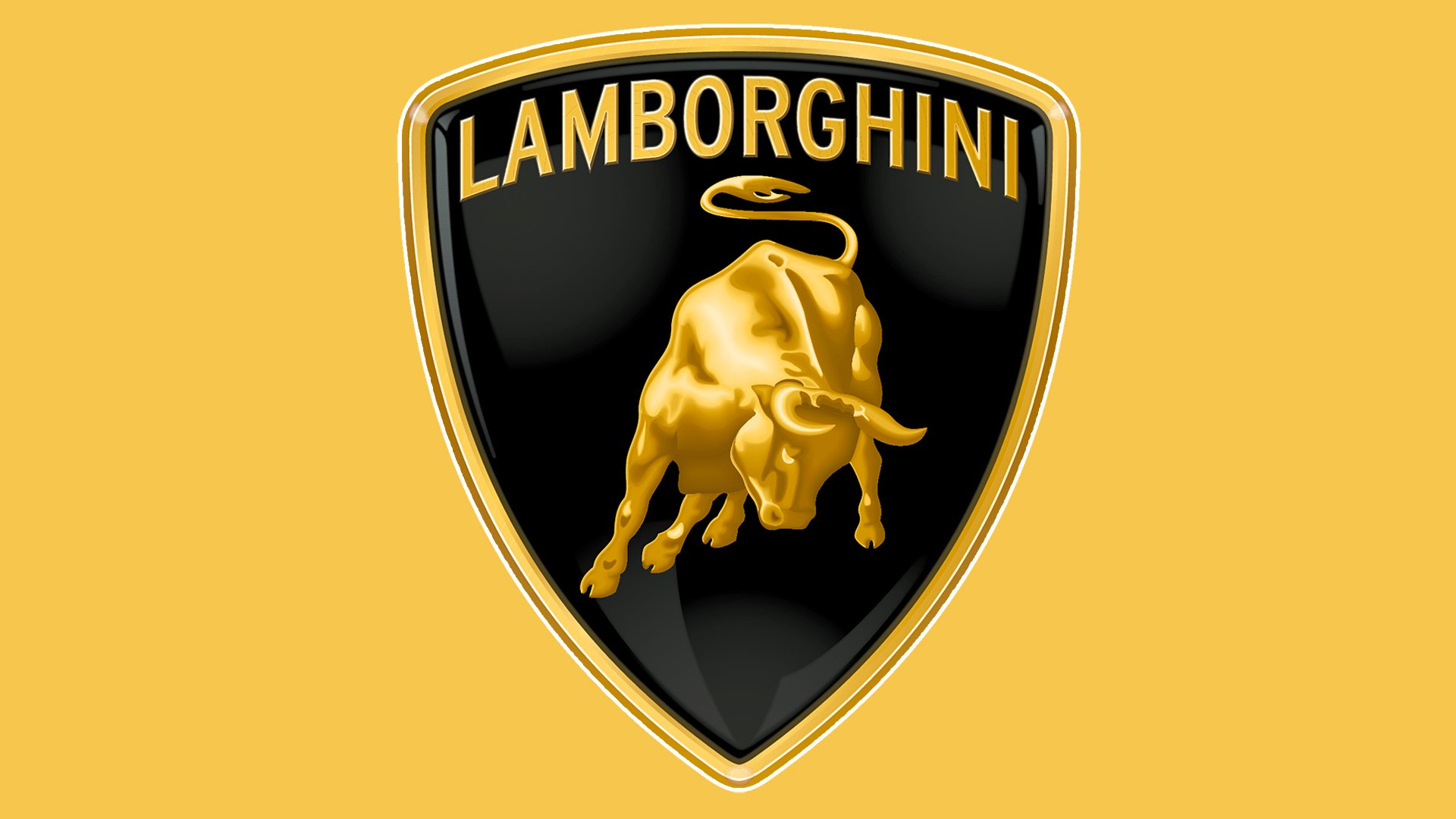 Lamborghini logo color