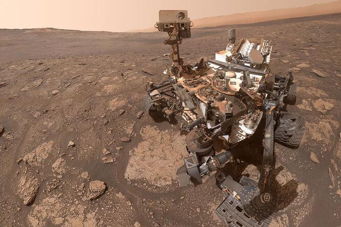 NASAs Curiosity rover sends adorable selfie to Earth