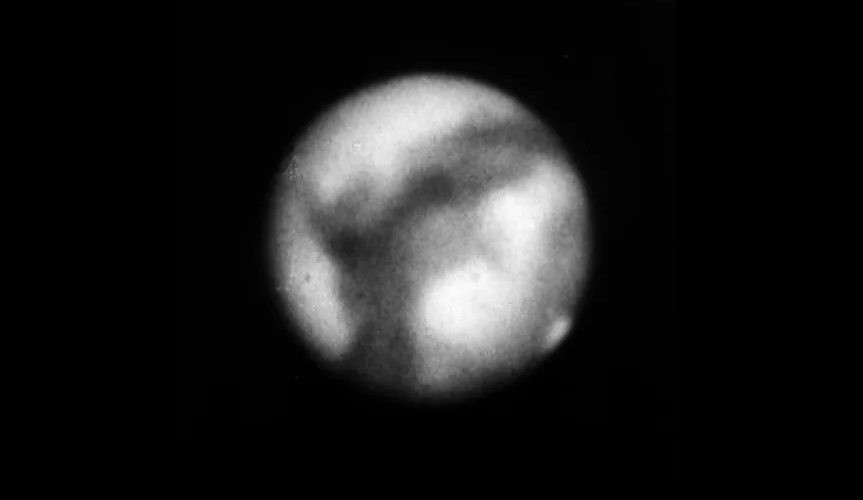 Photos of Mars taken over 100 years ago appeared on the network