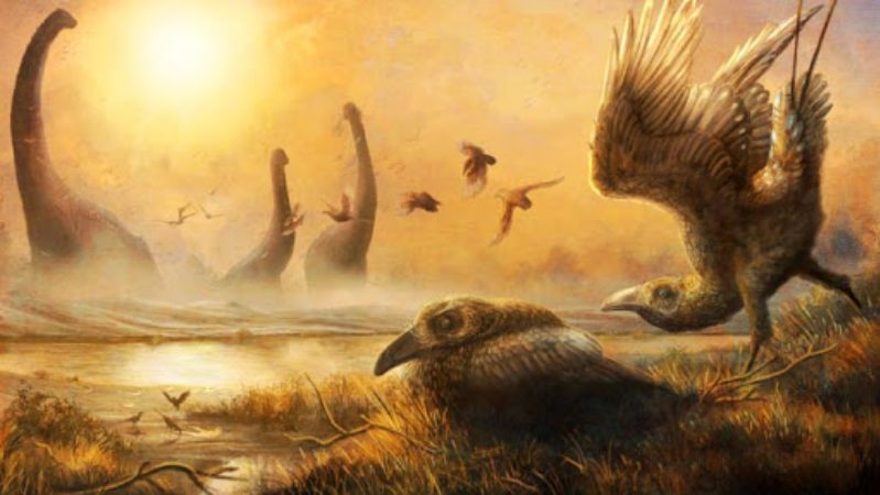 Scientists have shown a creature that lived 68 million years ago
