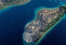 Scientists predicted the breakup of Madagascar into several islands in the future