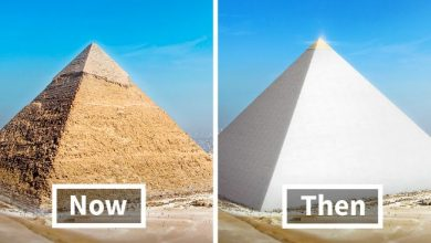 Where is the golden top of the Great Pyramid 2