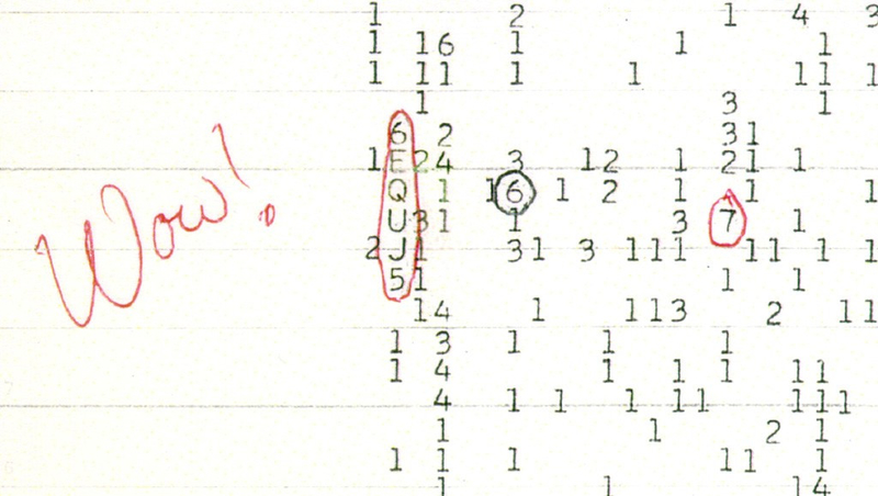 amateur astronomer has discovered a possible source of the Wow