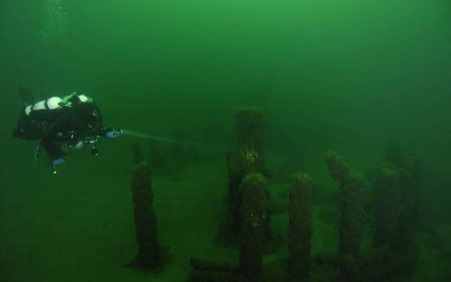9 000 year old structure found under Lake Michigan 2