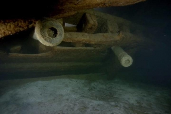 A warship full of silver and the bodies of soldiers was found in the Baltic