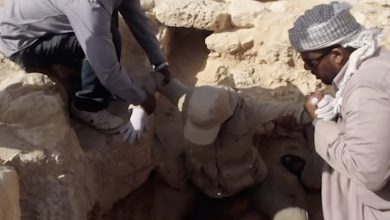 Archaeologists have discovered the entrance to the mine where Cleopatra may be buried