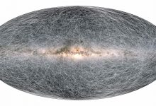 ESA shows the movement of stars in the Milky Way over the next 400 000 years