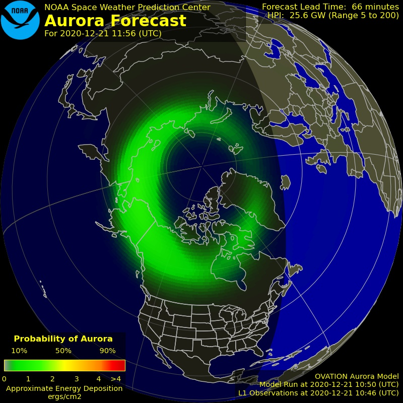 Geomagnetic storm is predicted on December 23