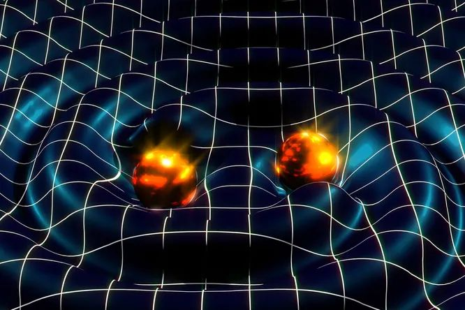 Gravitational waves can help explain why the universe is expanding with acceleration