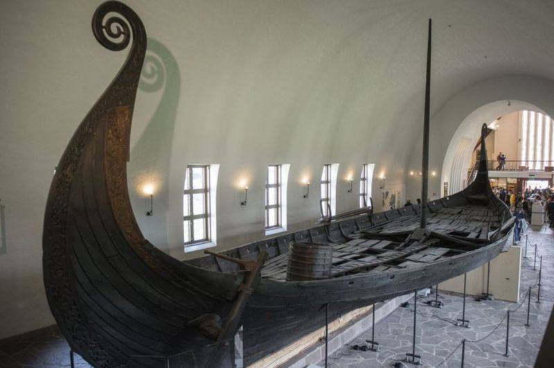 How an ancient Viking ship is excavated in Norway