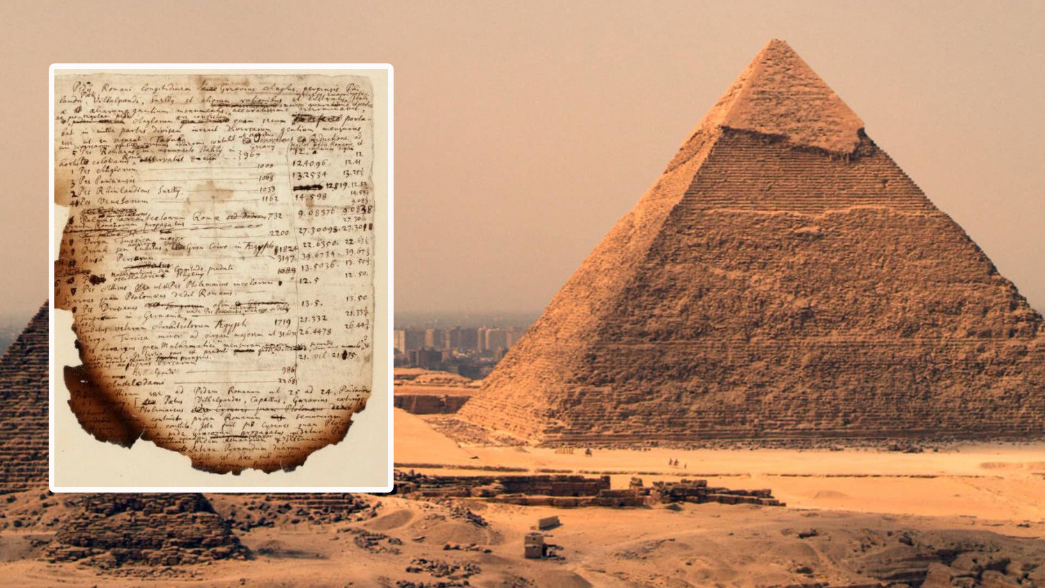 Isaac Newton tried to unravel the pyramid code to find out the end of the world