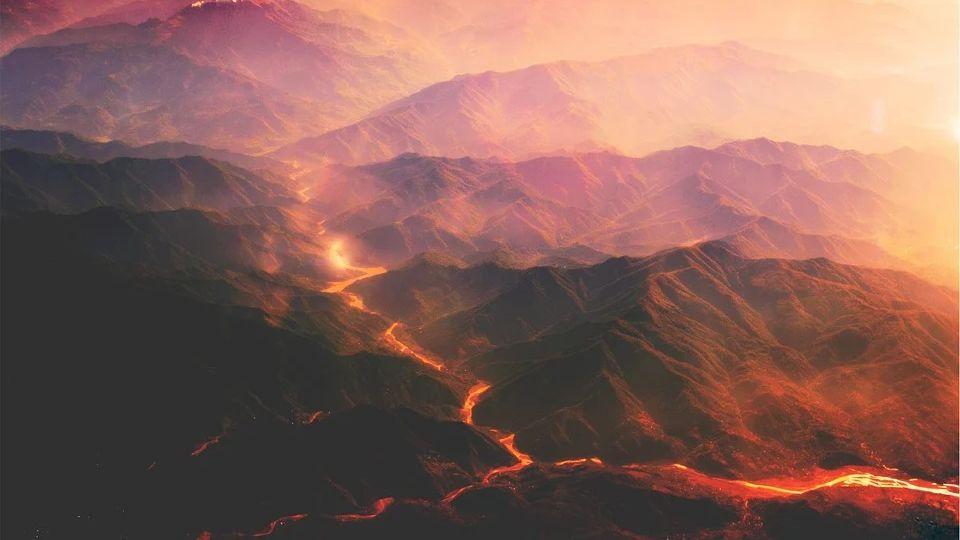 Long Valley supervolcano