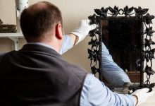 Queen of Frances mirror hung in the closet of a British family for 40 years