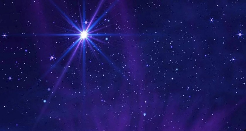 The Christmas star represents the conjunction of Saturn and Jupiter