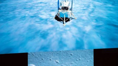 The images became the basis for the complete video of the Change 5 landing