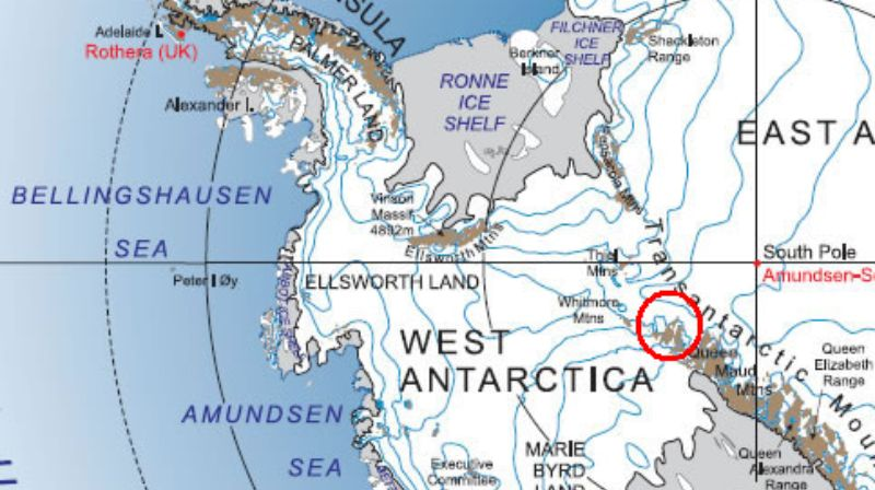 Tiny human remains found in Antarctica 600 million years old