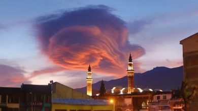 clouds appeared over Turkey