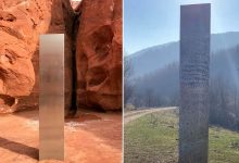 mysterious monolith similar to the one that disappeared in Utah was discovered in Romania