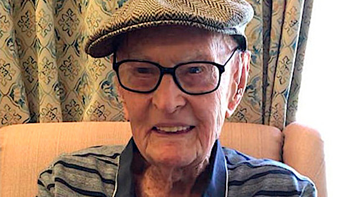 111 year old Australian resident reveals the secret of his longevity