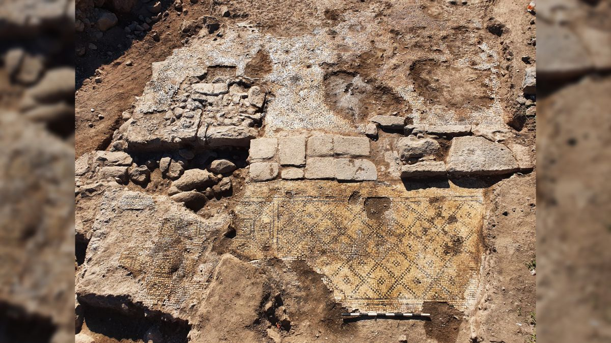 A 1 500 year old tablet mentioning Jesus Christ discovered in Israel
