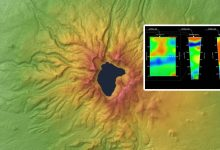A mantle anomaly discovered in a Chinese volcano near the surface