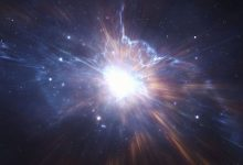 A minute after the Big Bang an unknown push created dark matter