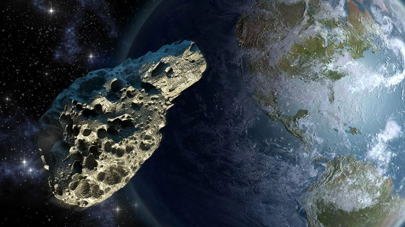 A potentially dangerous asteroid is approaching Earth