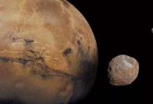 An unexplained wobble shifts the poles of Mars