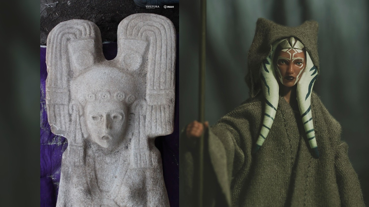 Ancient statue similar to Star Wars character discovered in Mexico