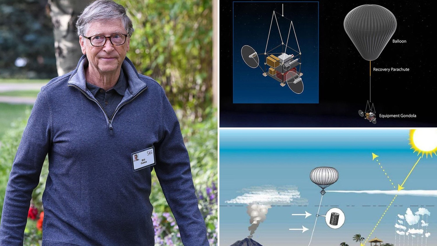Bill Gates sun blocking project could lead to human extinction