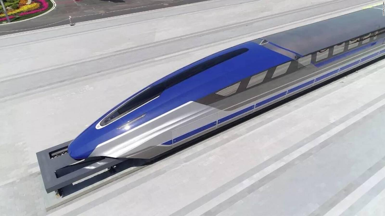 China introduced a train capable of accelerating to 1000 km h