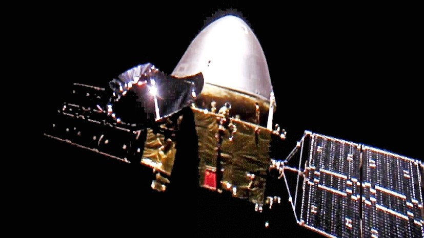 Chinese space probe covered 400 million km